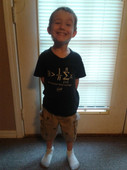 First Day of Kindergarten for My Big Guy