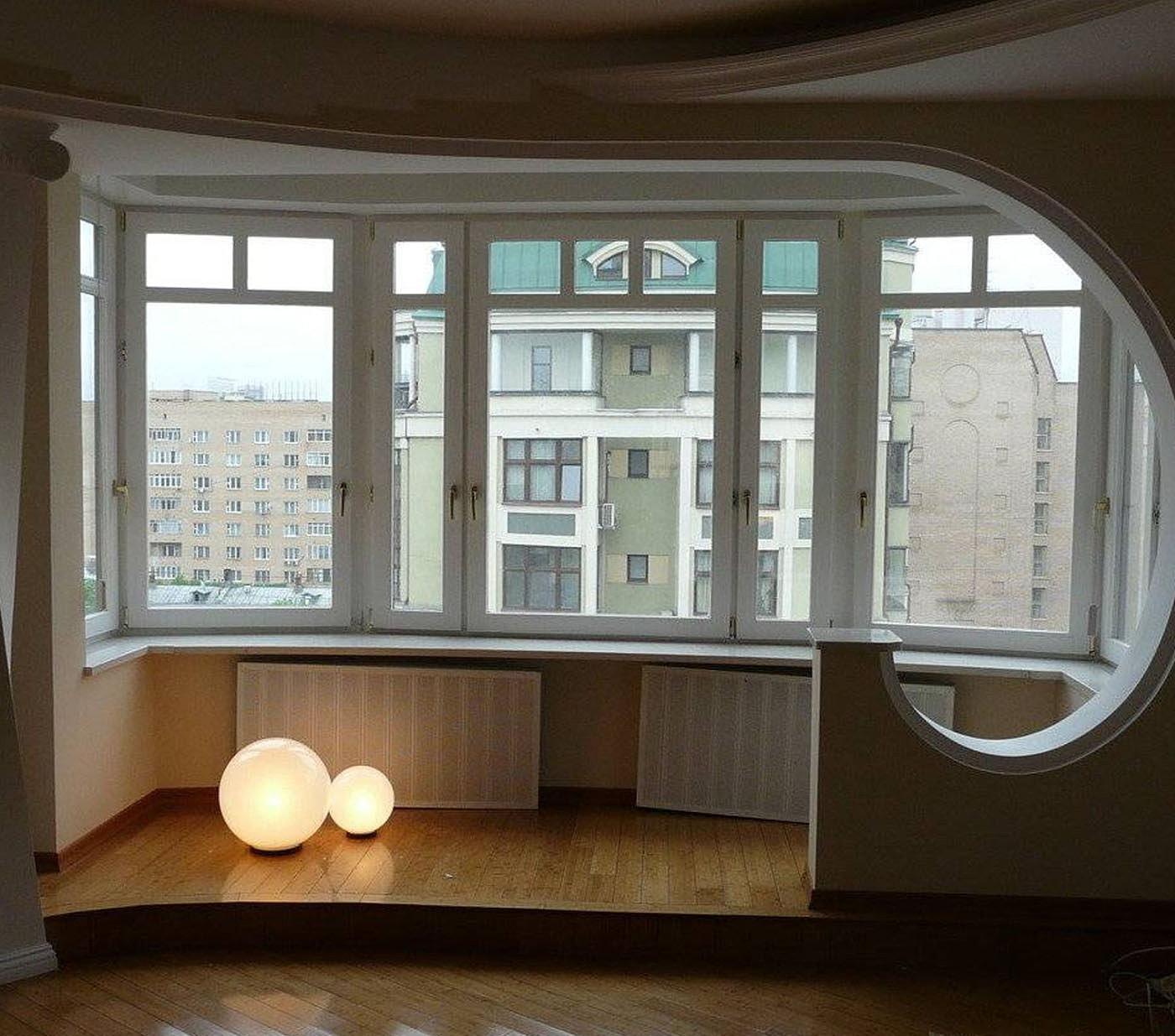 Как сделать общую площадь балкон и спальня.