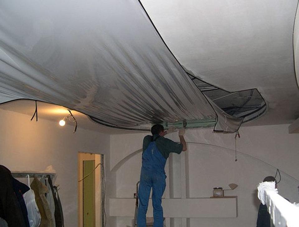 Как сделать натяжной потолок цена