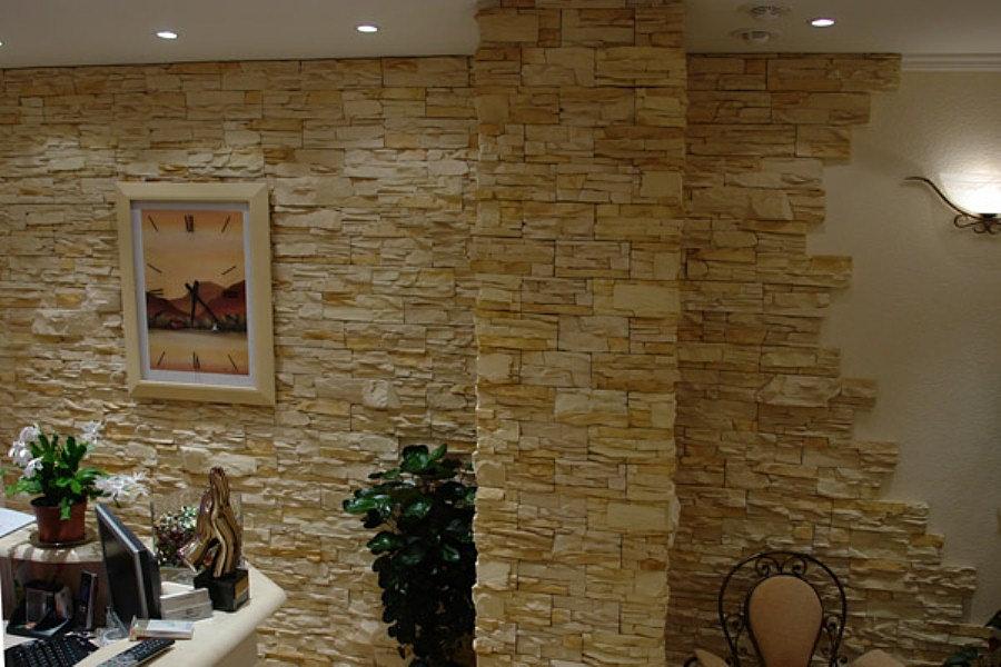 Фото декоративного камня - примеры использования искусственн.
