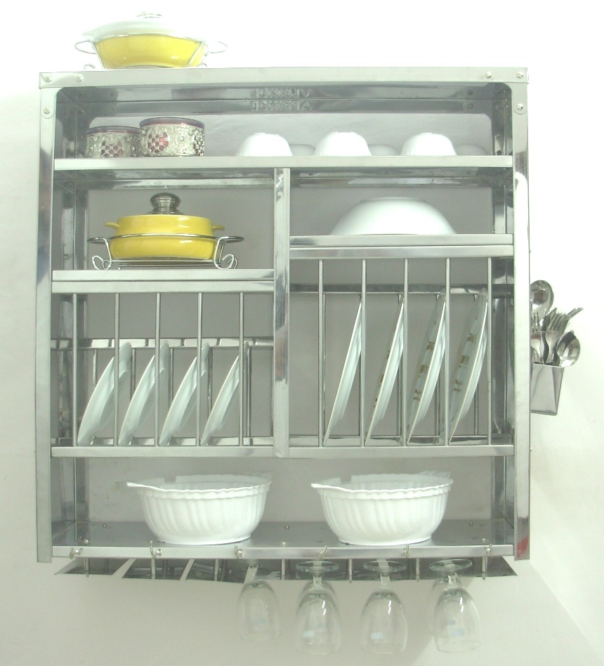 Medium plate rack plate rack dish drying rack kitchen rack wall shelves shelf rack - Dish rack for small space collection ...