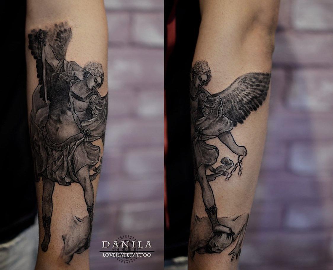LoveHateTattoo   Тату-студия   Челябинск   Tattoo angel
