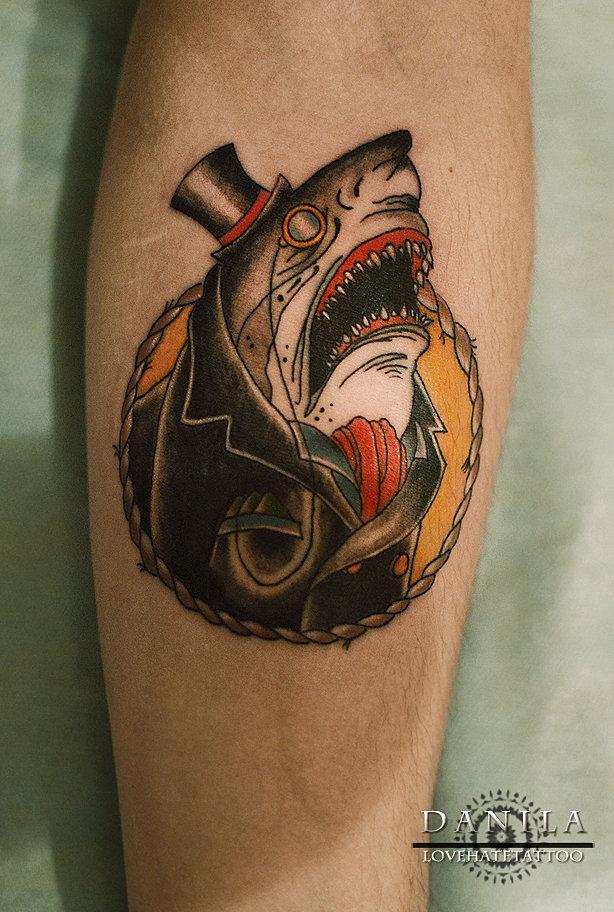 акулы тату