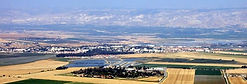 Beit Shean Valley and the town of Beit S