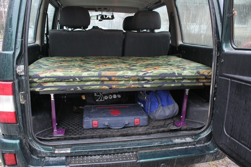 Полка в багажник уаз патриот размеры своими руками 44