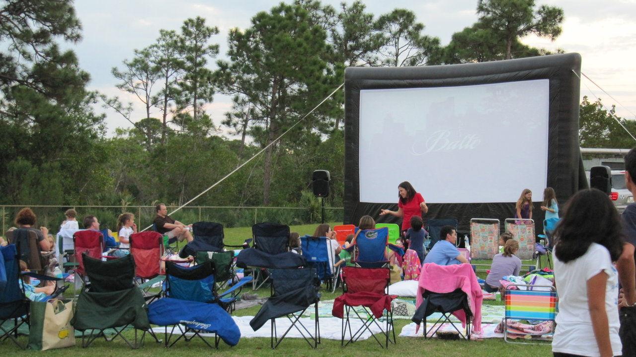 outdoor movie rentals south florida