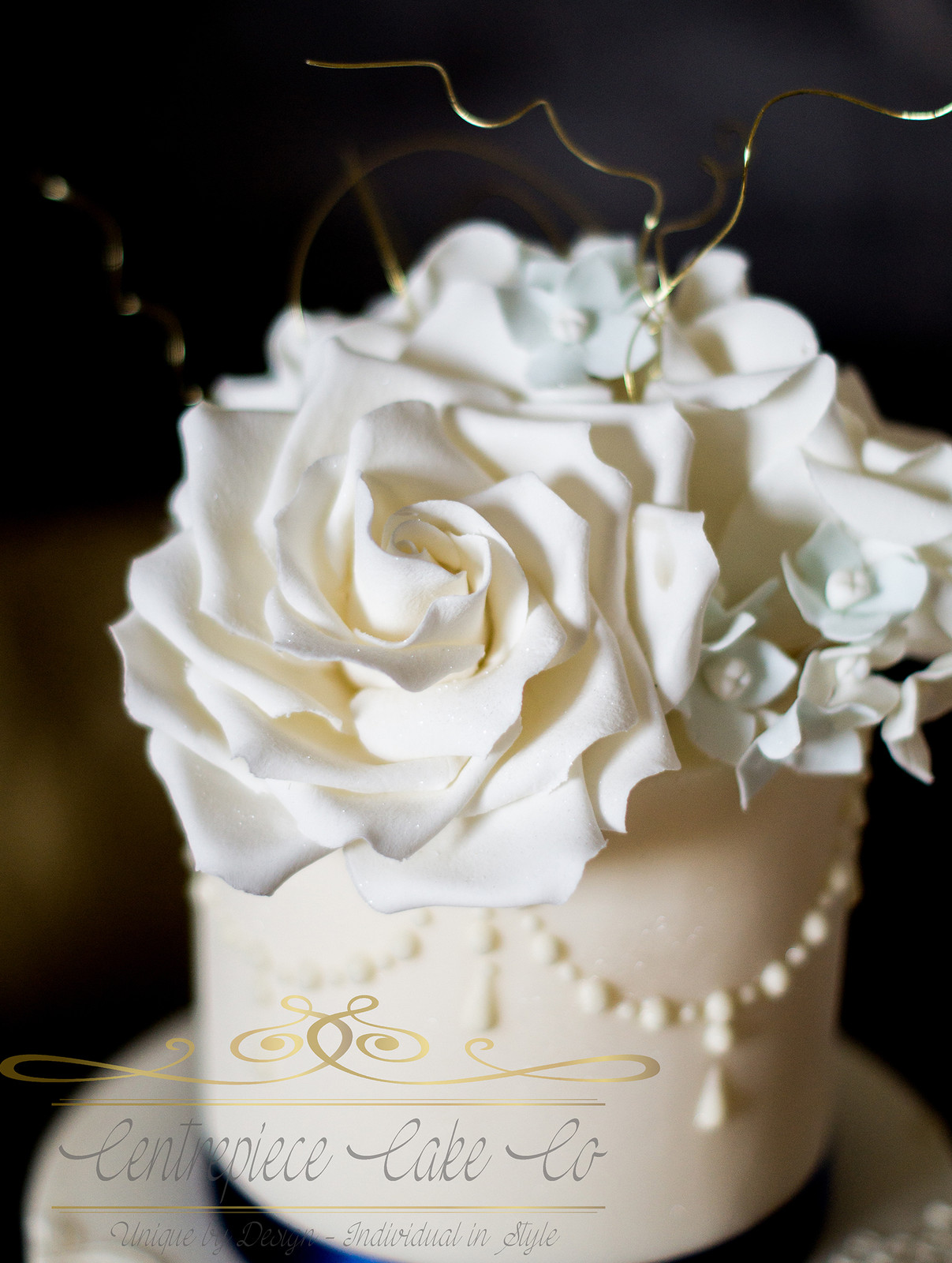 White Wedding Cake Pearls