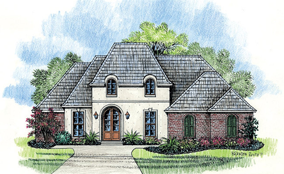 Madden home design the oak alley for Madden house plans