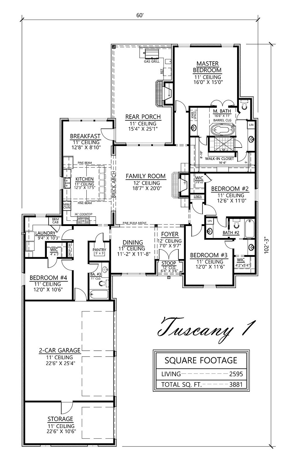 madden home design - the tuscany i