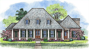 The St  James Madden Home Design Louisiana plans library