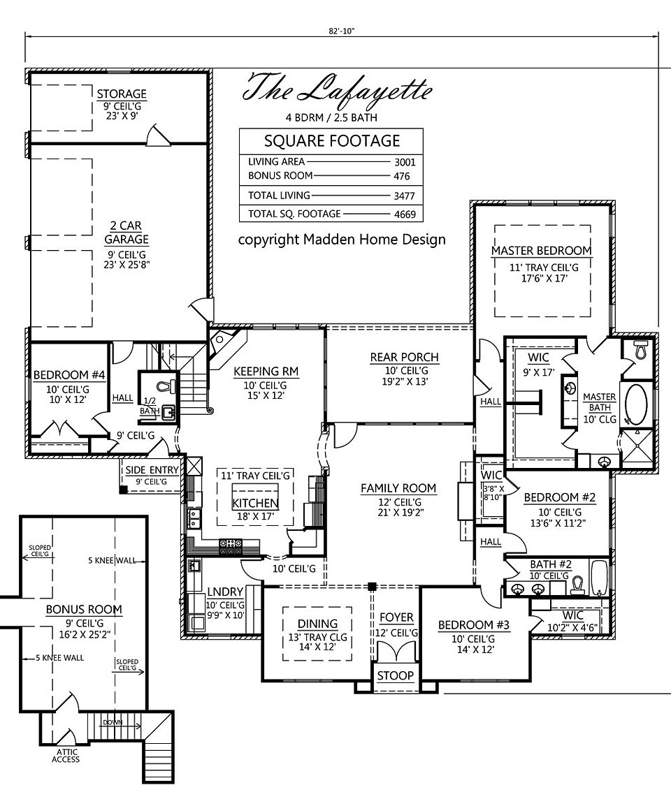 madden home design - the lafayette