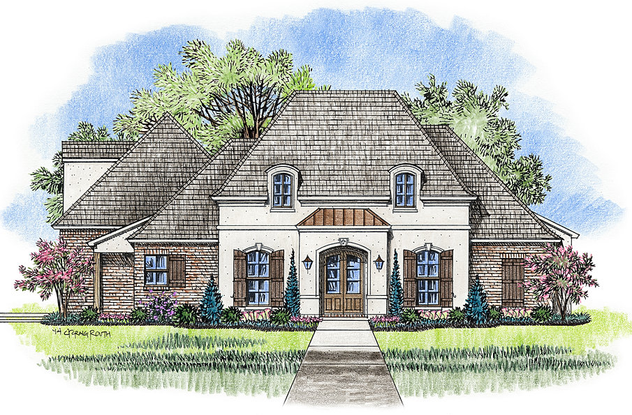 Madden Home Design The Pinehurst