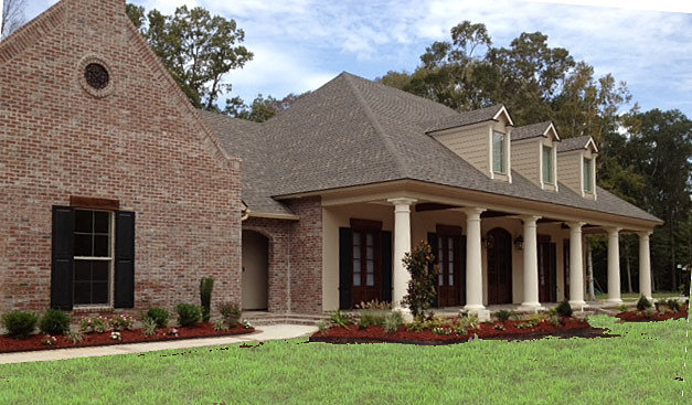 French country exterior house photos joy studio design for Louisiana french country house plans