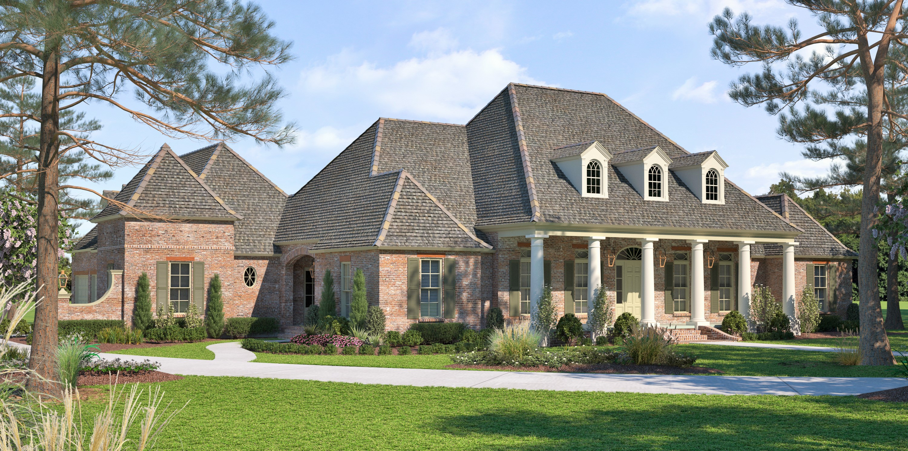 The Reserve Madden Home Design Acadian House Plans French