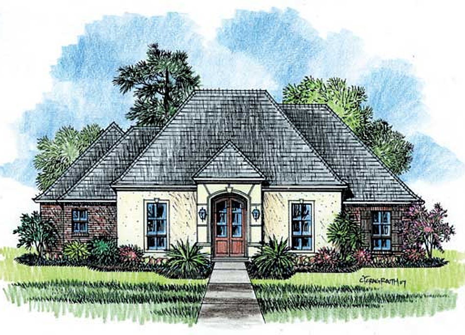 Madden home design the bellaire for Madden home designs