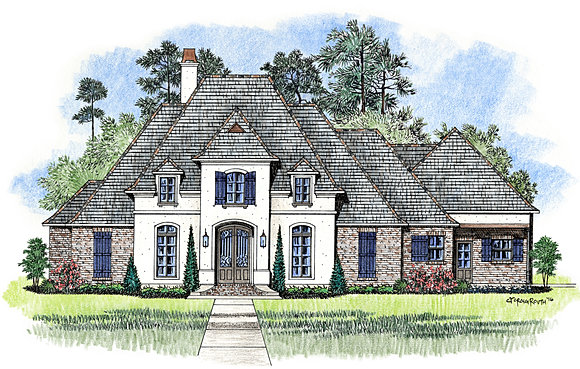 Unique French Country House Plans House Plans