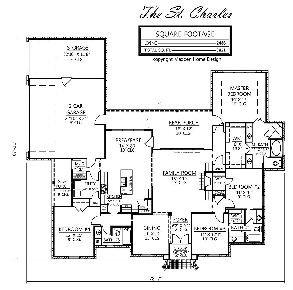 madden home design - the st. charles