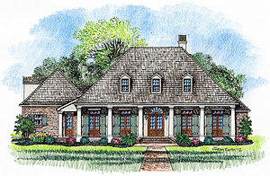 madden home design - louisiana plans library
