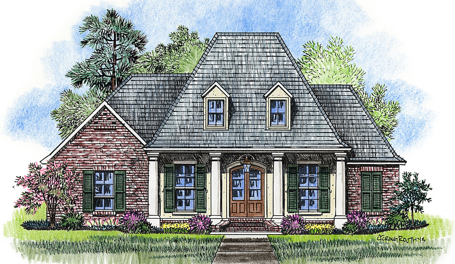 Madden home design the evangeline for Madden house plans