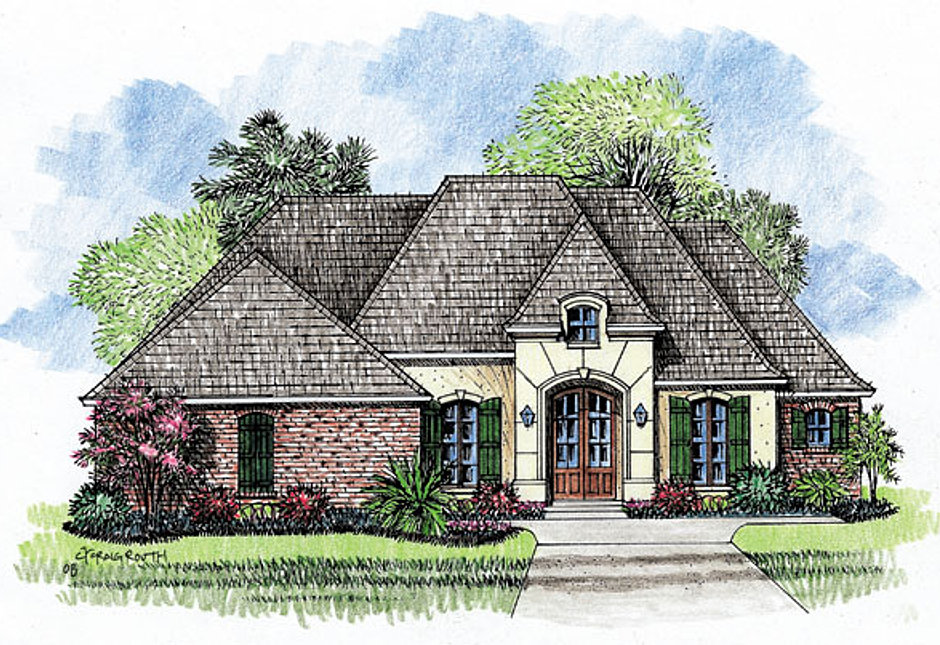 Madden Home Design The Abbeville