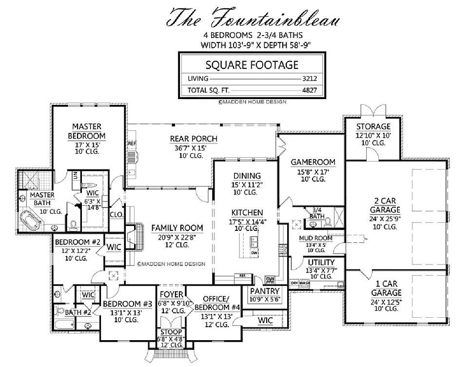 Madden Home Design - The Fountainbleau