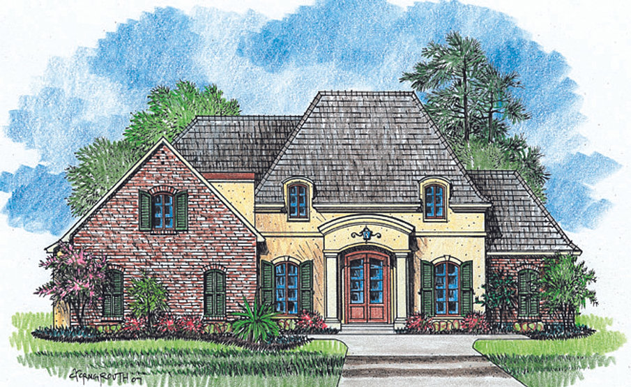 Madden home design the georgetown for Madden house plans