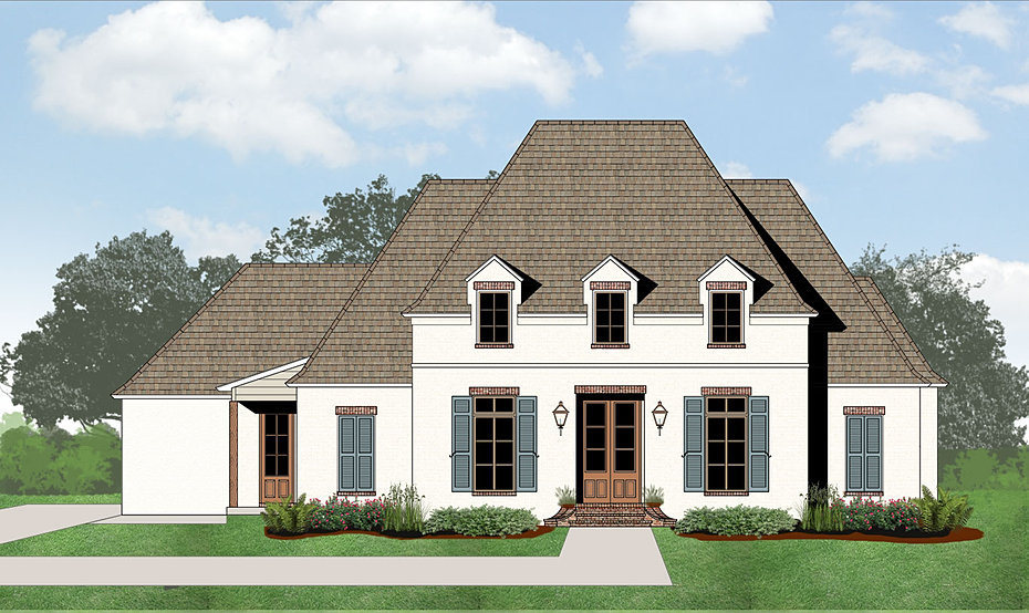 Madden home design acadian house plans french country for French acadian house plans