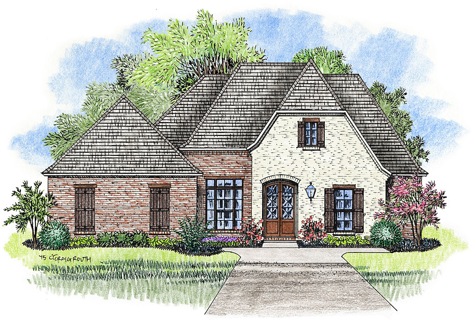 Madden home design french country house plans acadian for 2 story acadian house plans