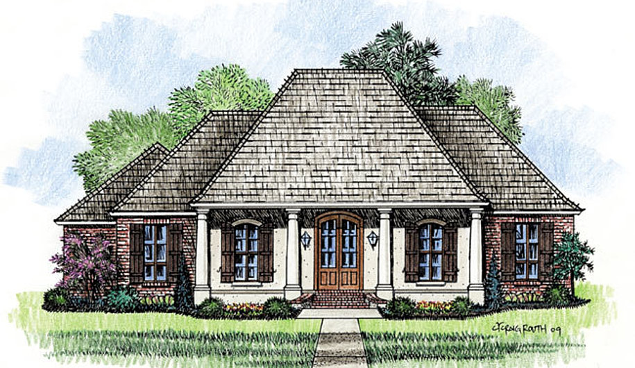 Madden home design the mayberry for Madden house plans