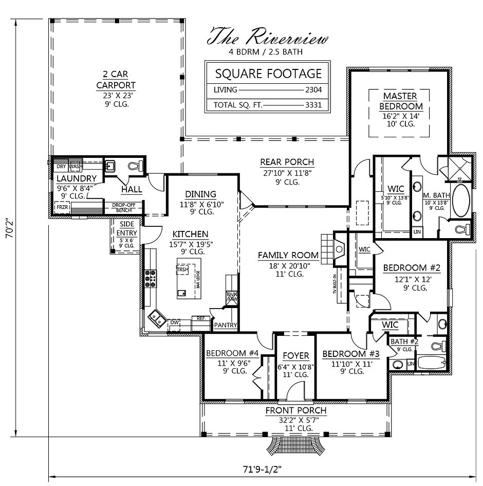 House Plans With River View House Design Plans