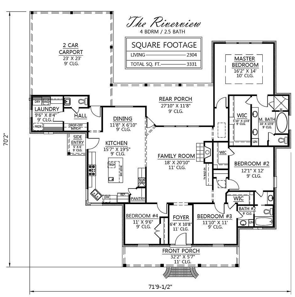 madden home design - the riverview