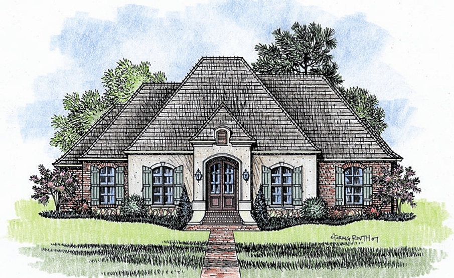 Madden Home Design The Briarwood