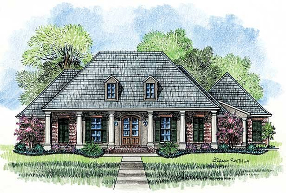 Madden home design the magnolia for Madden house plans