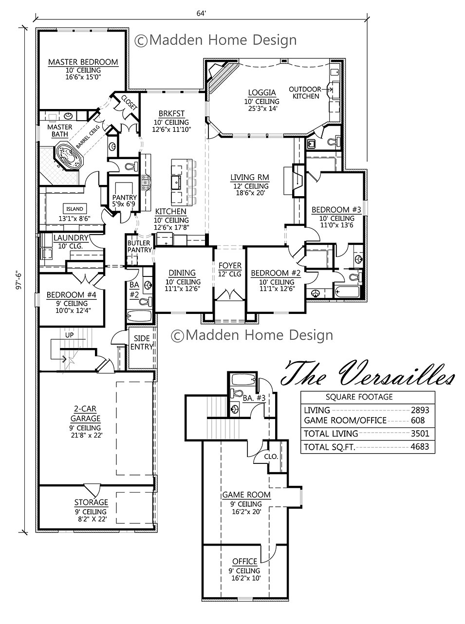 madden home design - the versailles