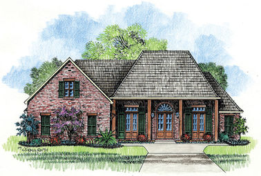 The Creole Madden Home Design Acadian House Plans French