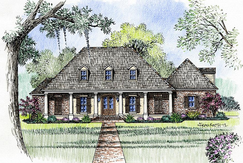 Madden home design the williamsburg Williamsburg home plans