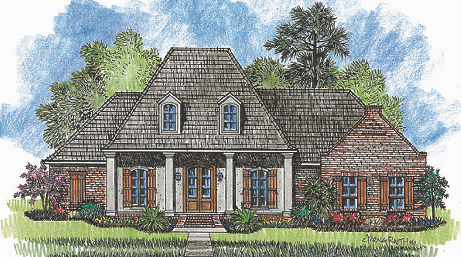 Madden home design the jefferson for Madden house plans
