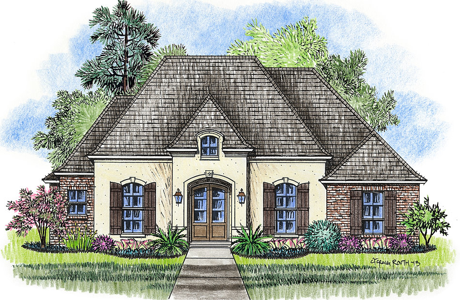 Madden Home Design - French Country Plans Library