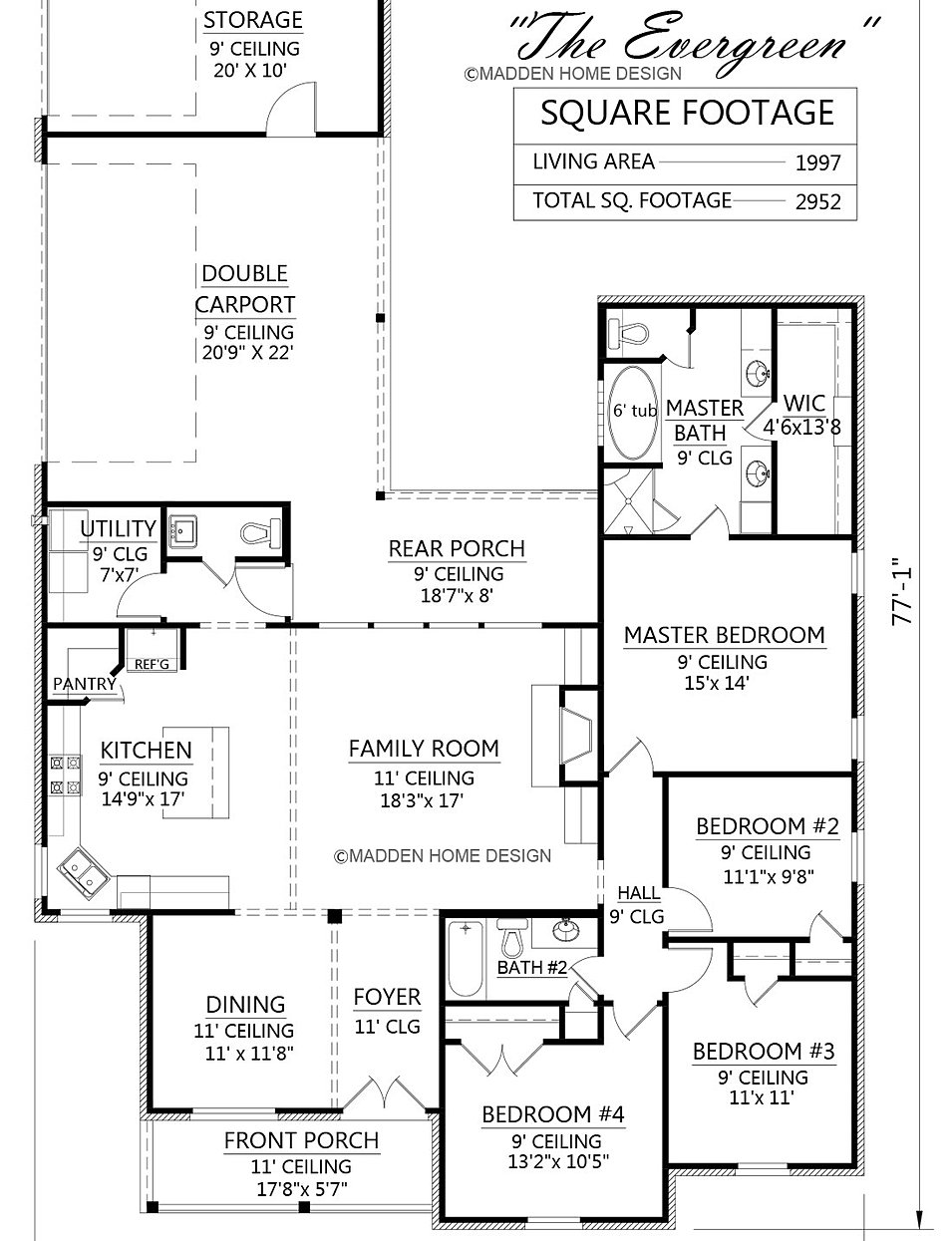 madden home design - the evergreen