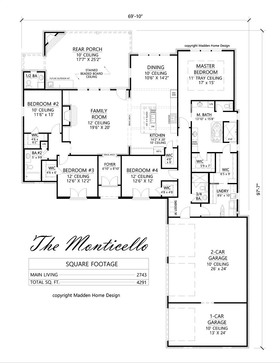 madden home design - the monticello