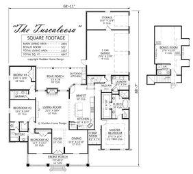 tuscaloosajpg tuscaloosa planjpg - Madden Home Designs