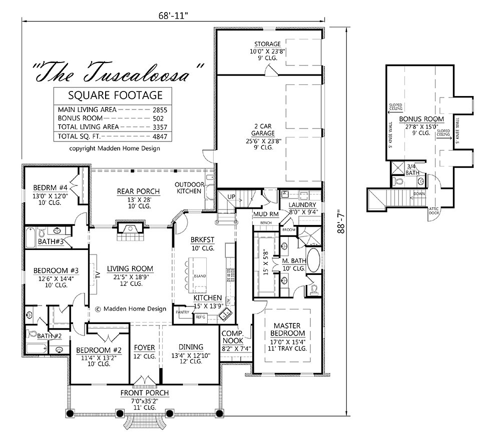 madden home design - the tuscaloosa