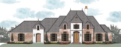 French country house plans mississippi