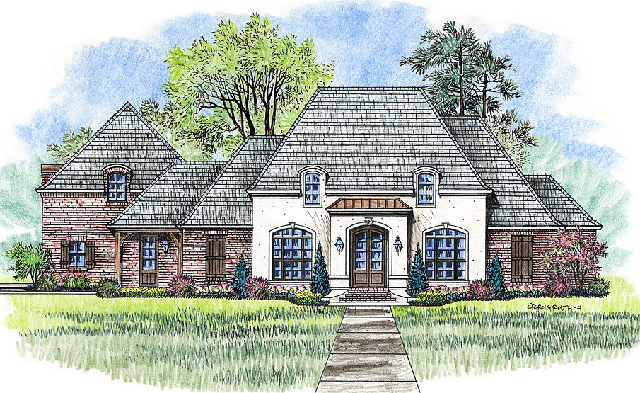 Madden home design the willow grove for The willow house plan