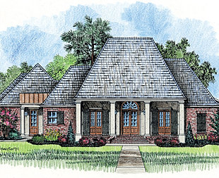 Madden Home Design Acadian Plans Library
