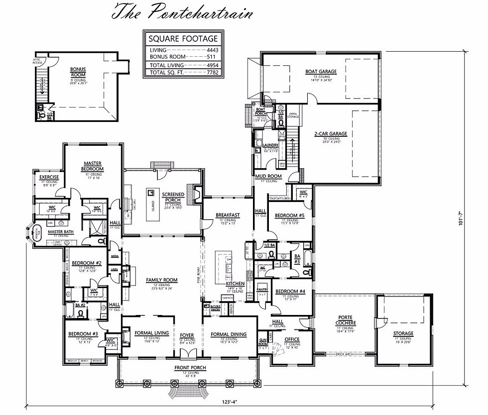 madden home design the reserve total 7782 square feet