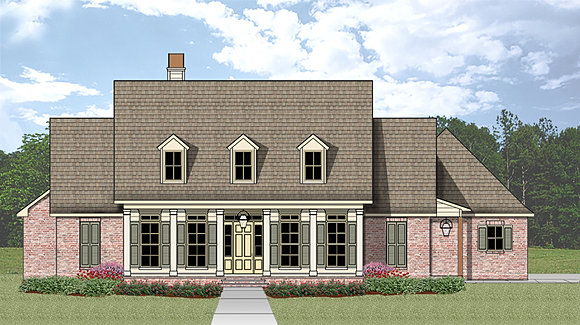 Madden home design french country house plans acadian for Acadian home plans