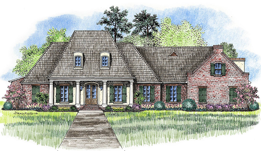 Madden home design the natchitoches for Madden home designs