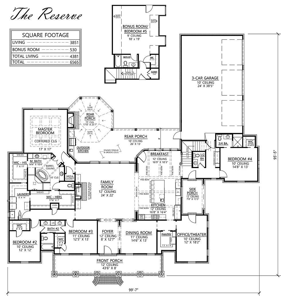 Madden home design the reserve for Madden house plans