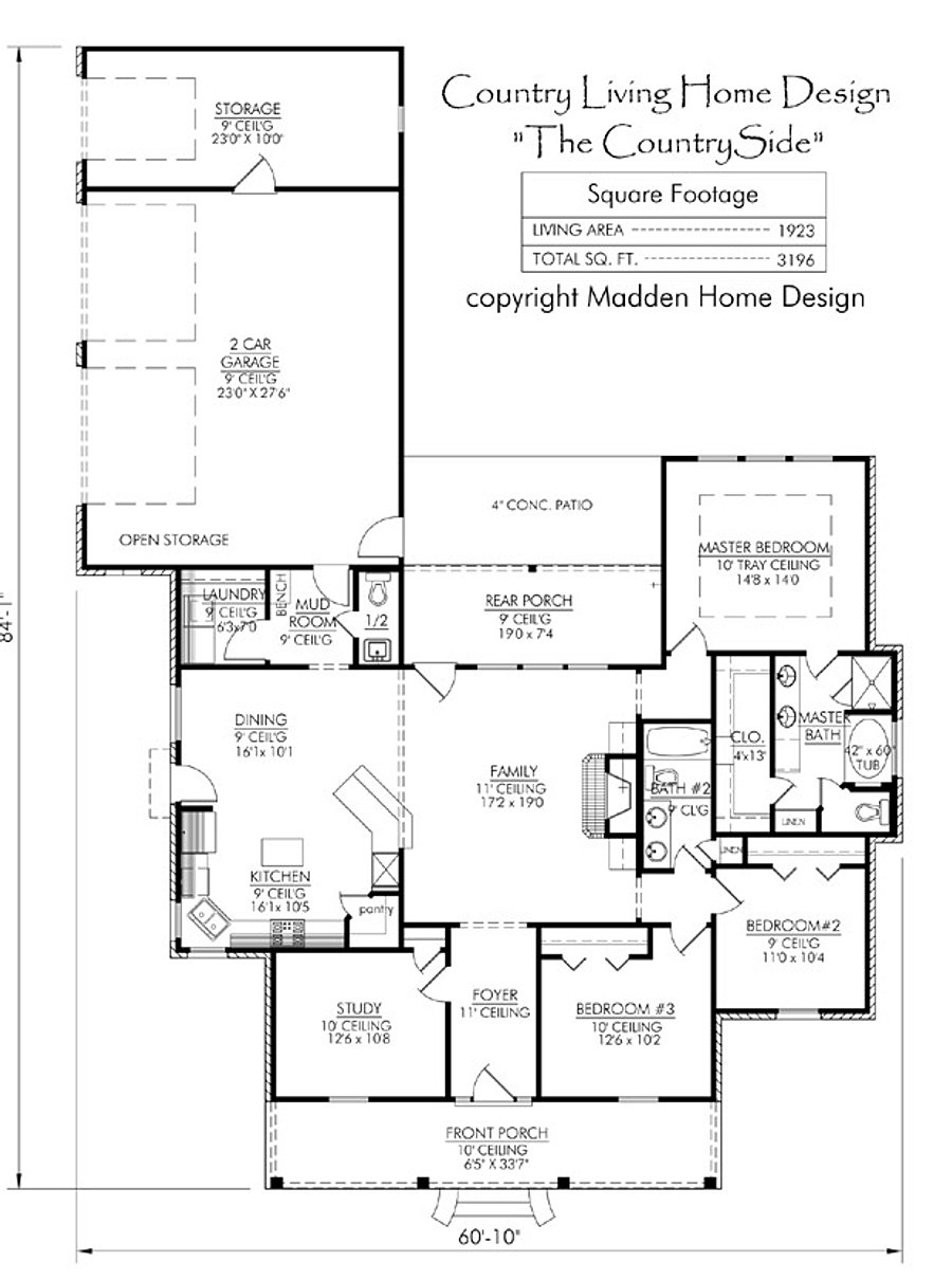 Madden home designs home design ideas for Madden house plans